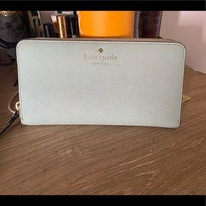 Mint Kate spade wallet!